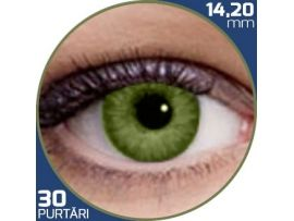 Air Optix Colors Gemstone Green | lentile de contact colorate verzi lunare - 30 purtari (2 lentile/cutie)
