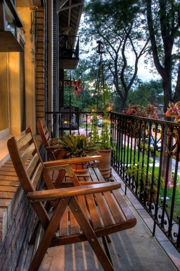 Ideas Para Decorar Balcones Pequeños. Small Outdoor SpacesApartment ... Part 57