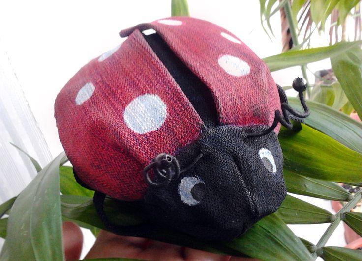 ladybug from Anastasya Golenevass tutorial