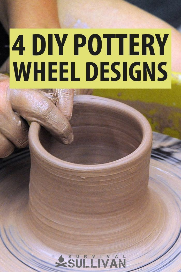 4 Diy Pottery Wheel Designs You Can Make Yourself Survival Sullivan Pottery Wheel Diy Diy Pottery Pottery Wheel
