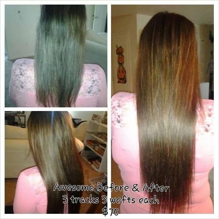 33 best twisted braids and extensions images on pinterest before and after sew in hair extensions added length and volume pmusecretfo Gallery