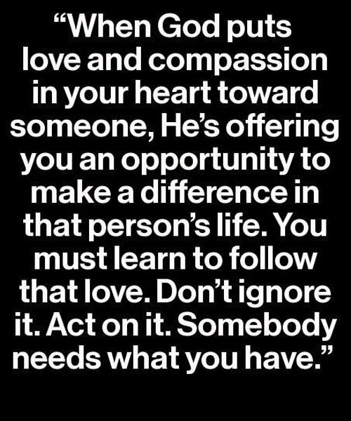Don't Ignore It – Love Quote