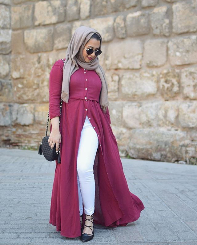 How to wear hijab arab style dresses
