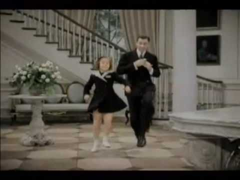 "We should be together: Shirley Temple and George Murphy in ""Little Miss Broadway"""