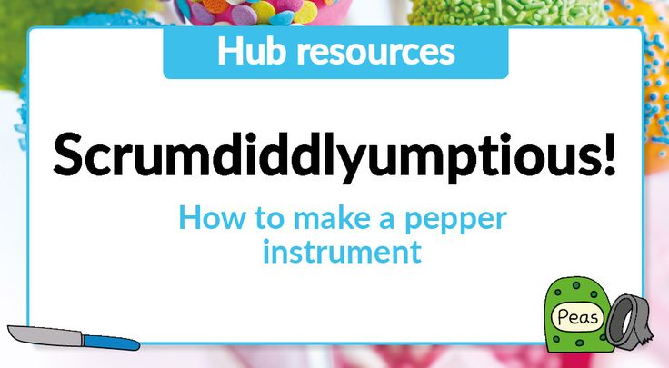 Free teaching resource - Year 3 - Instructions on how to make a pepper instrument: https://cornerstoneseducation.co.uk/free-teaching-resource-year-3-instructions-on-how-to-make-a-pepper-instrument/