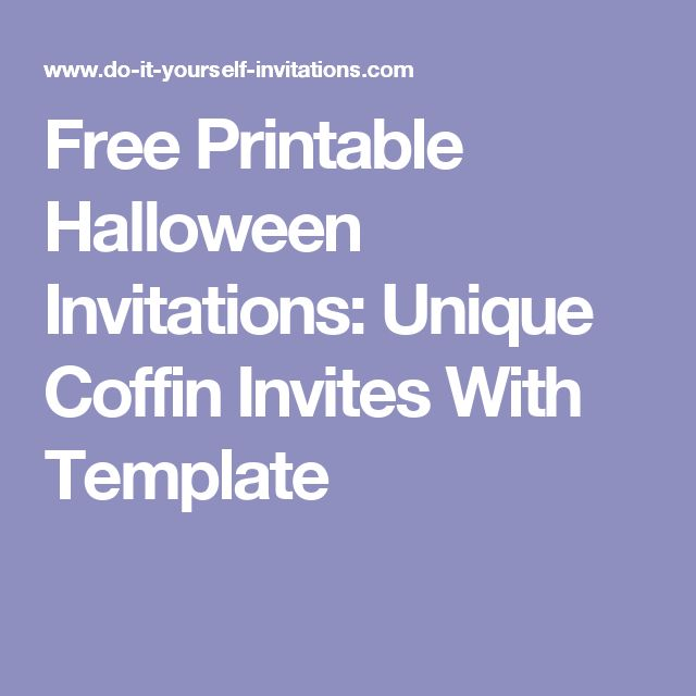 68 best Party Invitations \ Paper Pretties images on Pinterest - halloween invitation template
