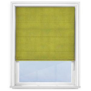 cheap-lime-green-roman-blind