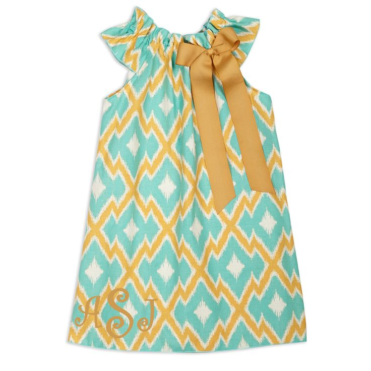 Swoon! Love this Girls Aqua Orange Zig Zag Charlotte Dress I discovered at lollywollydoodle.com and for only $29! Click the image above to get a $5 off coupon code for your next order!
