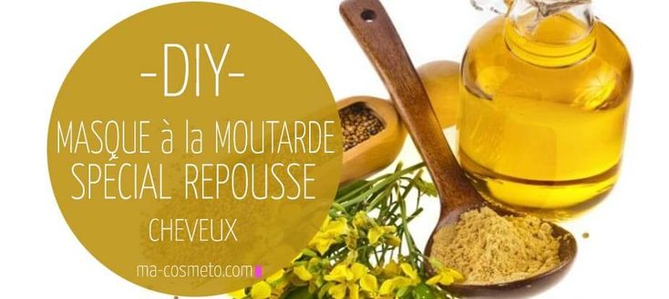 Masque à la moutarde pour la repousse des cheveux