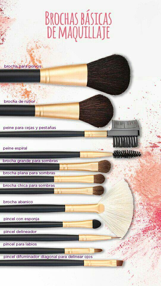 Te damos una guía rápida de las brochas para aplicar maquillaje y para qué sirve cada una.