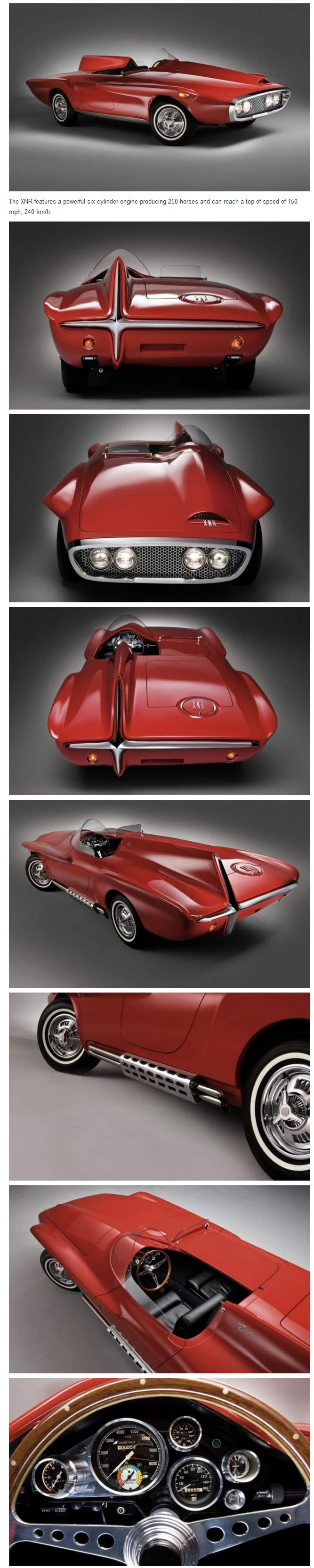 Plymouth xnr concept car most cars nowadays are ugly generic cheap cartoonish