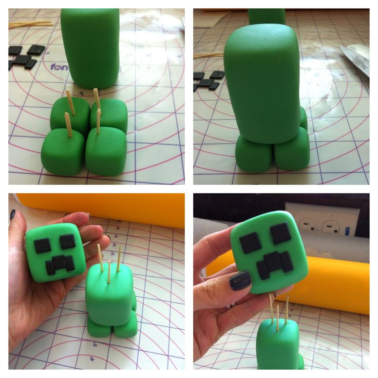 creeper mindcraft cake topper - Google Search