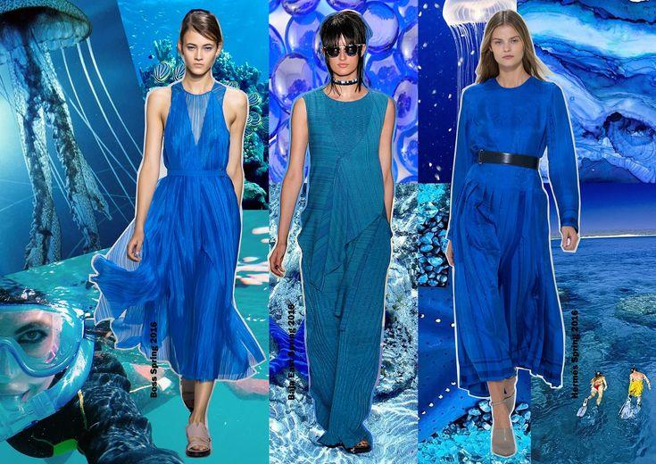 Color trends Spring 2016 - Snorkel blue / Divatszínek 2016 tavasz - Búvárkék