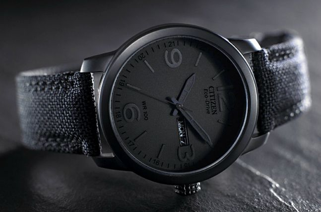 Citizen Eco Drive Stealth #style #apparel #watches