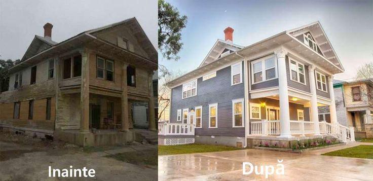 Casă veche de 105 de ani renovată şi transformată într-o casă de vis elegantă