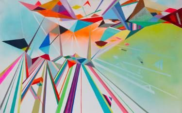 "Saatchi Art Artist Monica Figueredo; Painting, ""Amoxtli"" #art"