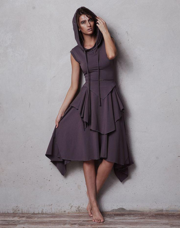"""Купить Платье """"Флайт - Сиреневый туман"""" с коротким рукавом - сиреневый, платье, платье трикотажное"""