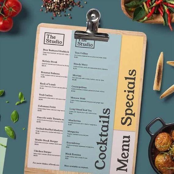 Adicionera Carta Menu Tabla Menu Porta Adicion Ticket Clips Cafe Menu Design Menu Design Menu Printing