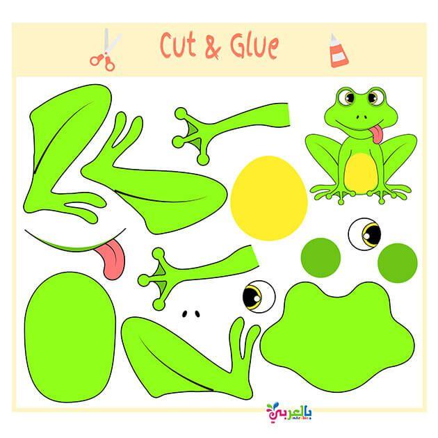 انشطة والعاب مسلية لاطفال الروضه جاهزة للطباعة العاب قص ولصق للاطفال بالعربي نتعلم Preschool Kids Game Development Preschool
