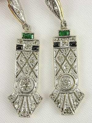 Art Deco Antique Style Earrings