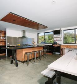 Central Otago Kitchen by Melanie Craig design studio based in Wanaka.