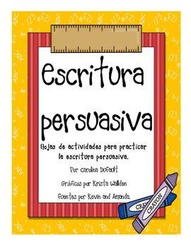 Escritura persuasiva