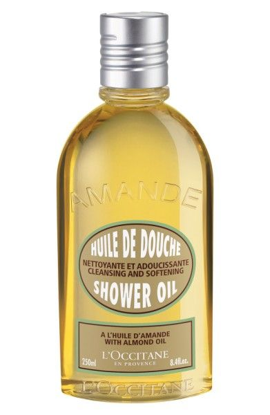 L'Occitane Almond Shower Oil  | *Disclosure: This is an affiliate link. This means that if you purchase an item or items through this link, you won't pay a penny more, but we will earn a commission for the influence of the sale.