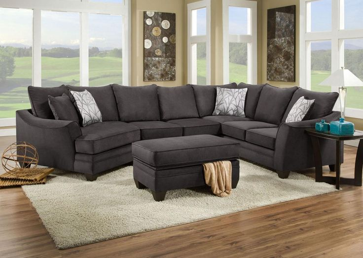 Shop For The American Furniture 3810 Sectional Sofa At Miskelly Furniture    Your Jackson, Mississippi Furniture U0026 Mattress Store