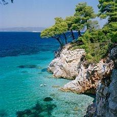 Kastani beach, Skopelos, Greece