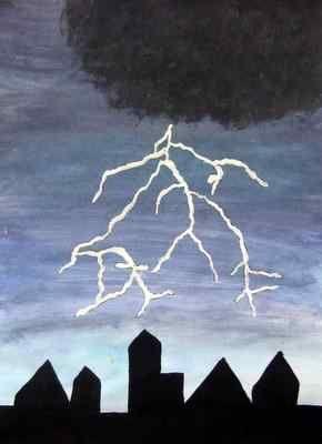 Image result for rain art for kids