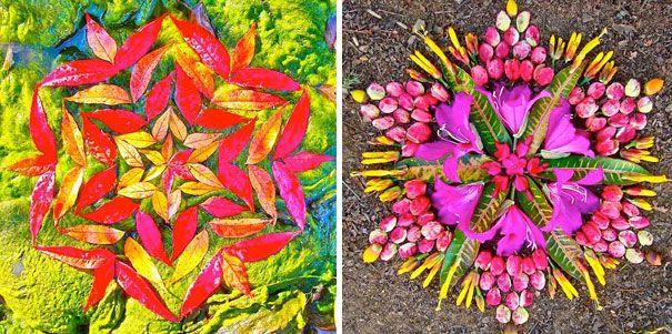 Flower Mandalas by Kathy Klein: Flowers Circles, Gorgeous Flowers, Flower Mandala, Flowers Mandala, Art Mandala