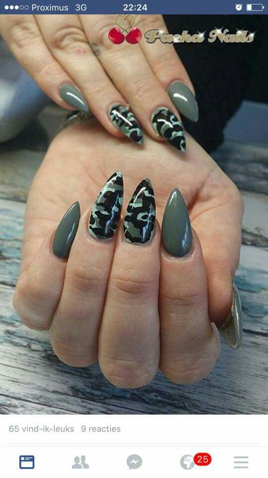 Best 25+ Camouflage nails ideas on Pinterest | Camo nails ...
