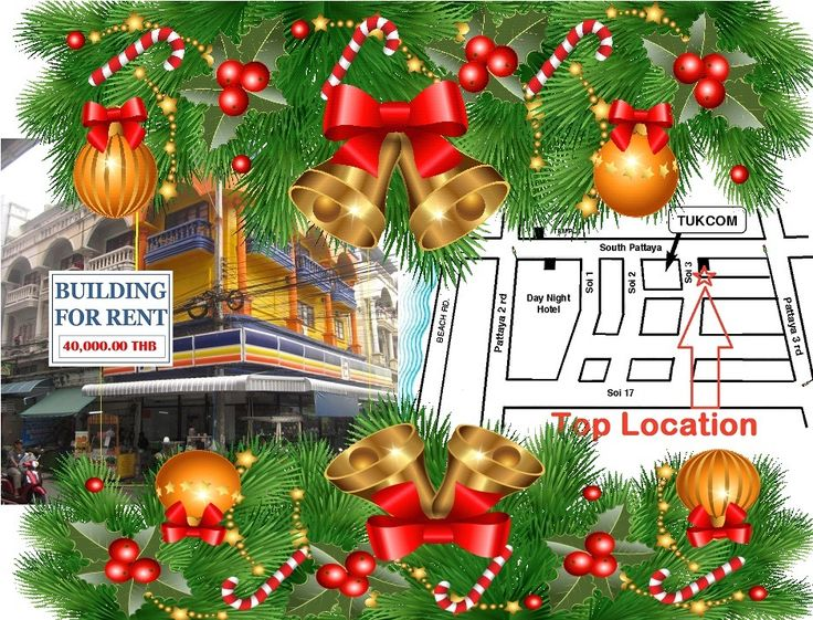 A real Christmas gift in Commercial Properties Rental Top located next to Tukcom… get the gift today http://businessforsalepattaya.com/commercial-spaces-for-rent-pattaya/