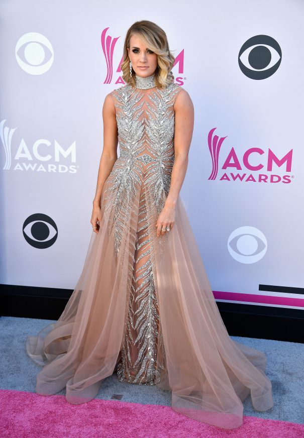 She looks amazing in this dress!