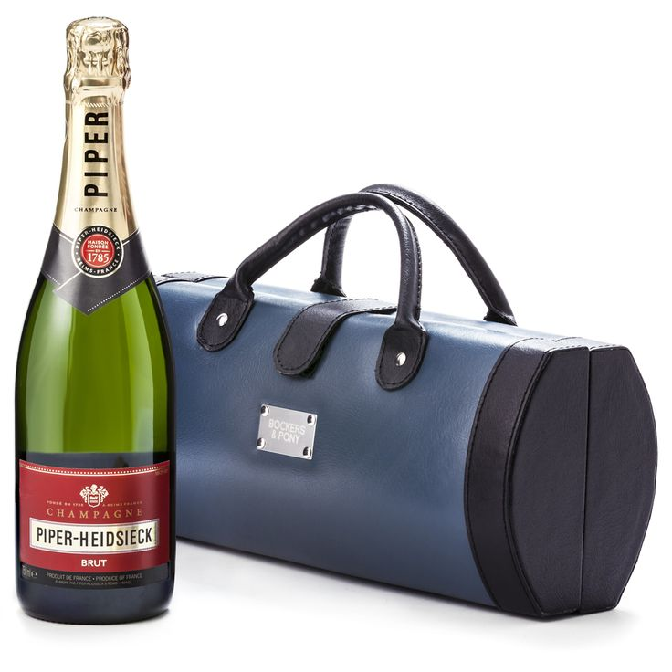 Piper Heidsieck + Traveller Case : Piper Heidsieck Brut NV Champagne Gift Delivered : Bockers & Pony : Piper Heidsieck Brut NV is a fabulous gift to send to help celebrate a special occasion. Piper Heidsieck is an elegant choice in french champagne and made by Regis Camus, the most awarded champagne wine maker of all time.