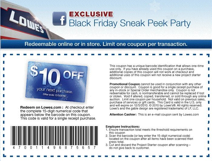 Discount coupons for lowes home improvement