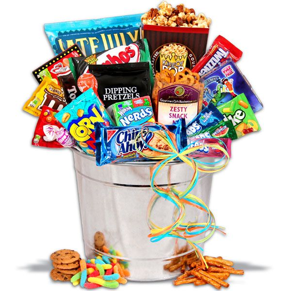 1000+ Images About Snacking Gift Basket On Pinterest