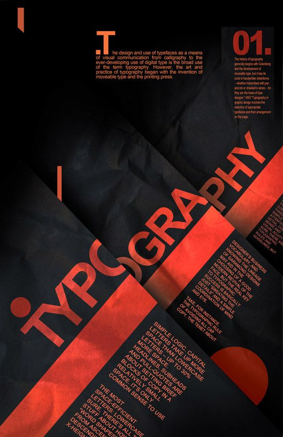 50 Beautiful Typography Poster Designs