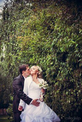 leaves #pattern wedding #photo