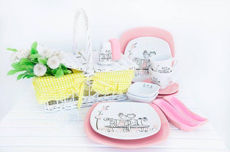 www.keramika.com.tr  www.keramikashop.com #tatlidusserisi #pembe #beyaz #ask #love #pink #white