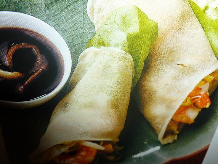 un mondo di ricette: cucina delle filippine - lumpia labong