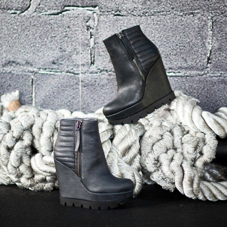 Wedge booties... #SanteBooties #BuyWearEnjoy #SanteMadeinGreece Available in stores & online: www.santeshoes.com