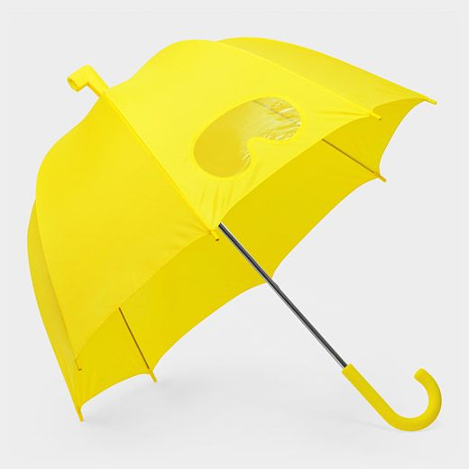 I love the little eye hole/ goggles on this umbrella so useful!:)