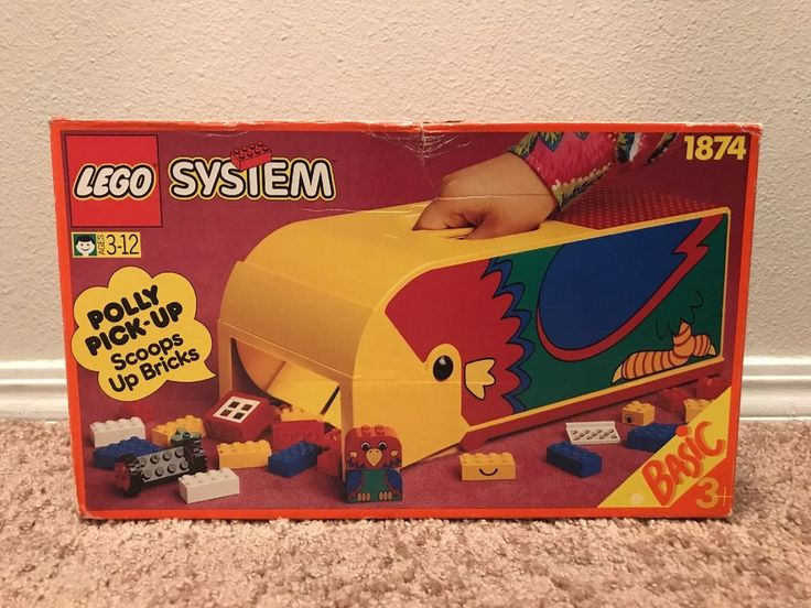 Vintage LEGO System # 1874 POLLY PICK UP! Scoops Up Bricks! RARE!  | eBay
