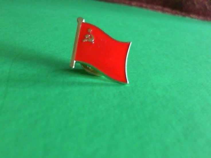 Soviet Union USSR Flag Pin Badge Tie Tack! New Russia Russian Communist       eBay!