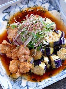 鶏なす中華南蛮
