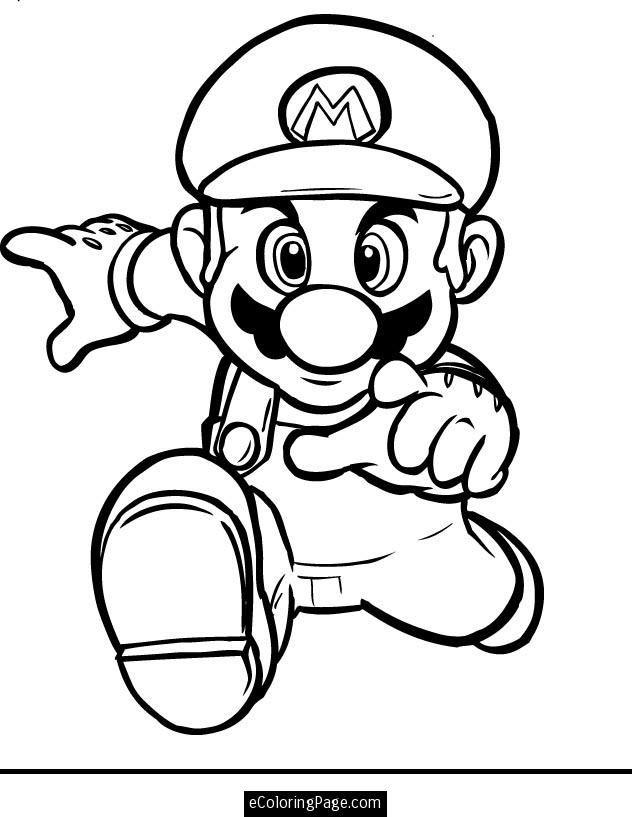 Download Or Print This Amazing Coloring Page Mario Bros Mario
