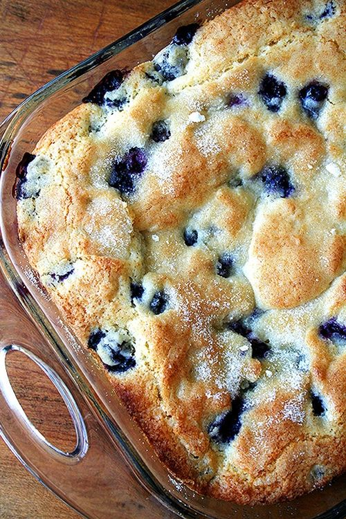 Buttermilk-Blueberry Breakfast Cake. Serves 6-8 ½ cup unsalted butter, room temperature 2 tsp. lemon zest or more — zest from 1 large lemon 3/4 cup + 2 tablespoons + 1 tablespoon sugar 1 egg, room temperature 1 tsp. vanilla 2 cups flour (set aside 1/4 cup of this to toss with the blueberries) 2 tsp. baking powder 1 tsp. kosher salt 2 cups fresh blueberries ½ cup buttermilk