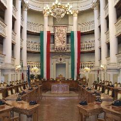 Reggio Emilia, sala del tricolore