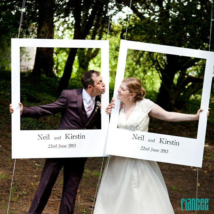 Si quieres que tus invitados se tomen una foto original - Como hacer un marco de fotos original ...